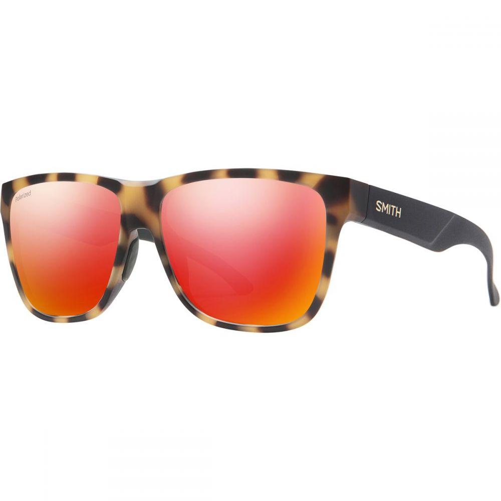 スミス Smith メンズ メガネ・サングラス 【Lowdown XL 2 Polarized Sunglasses】Matte Honey Tort/Polarized Red Mirror