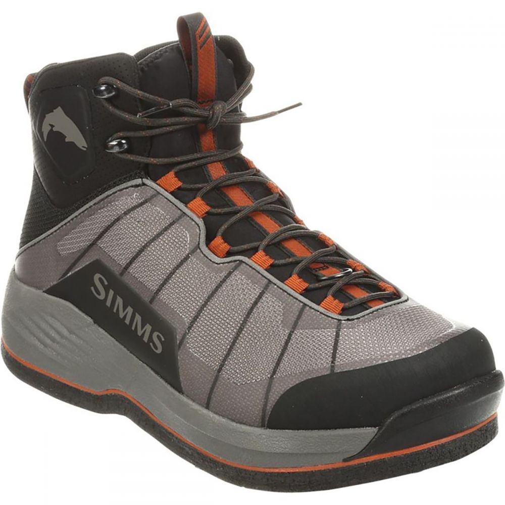 シムズ Simms メンズ 釣り・フィッシング シューズ・靴【Flyweight Felt Wading Boot】Steel Grey