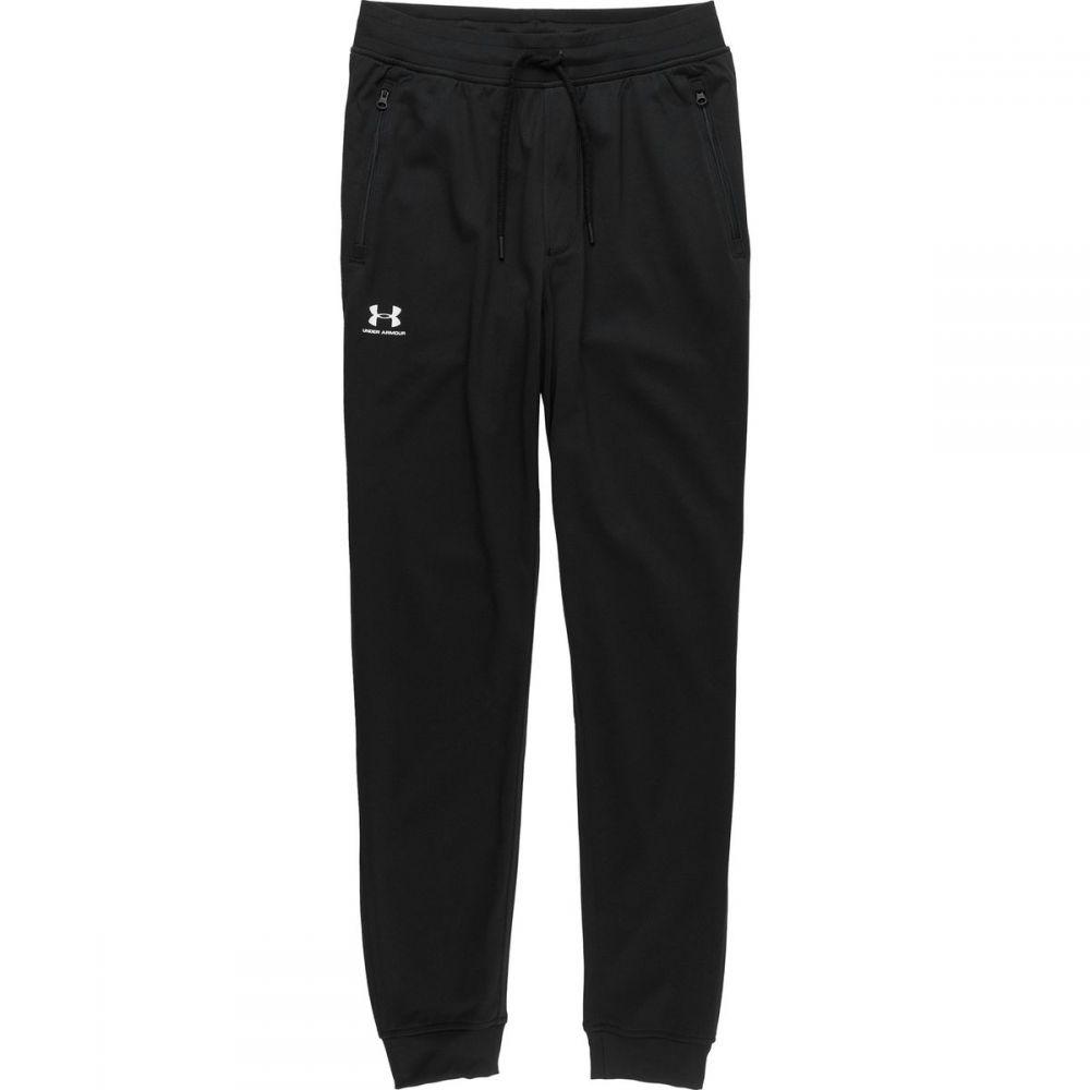 アンダーアーマー Under Armour メンズ ジョガーパンツ ボトムス・パンツ【Sportstyle Jogger Pant】Black/White