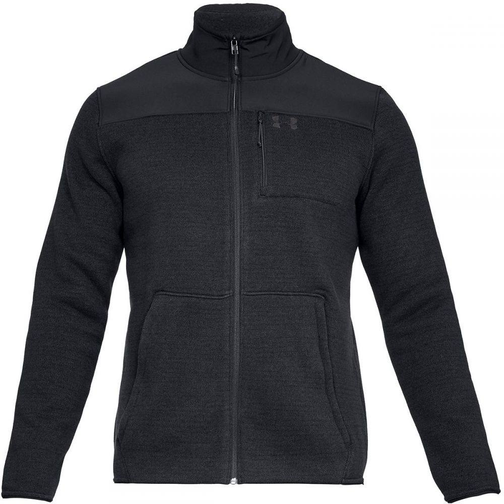 アンダーアーマー Under Armour メンズ フリース トップス【Specialist Full - Zip 2.0 Jacket】Black/Black/Charcoal