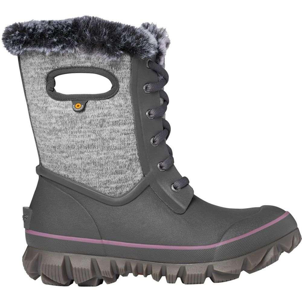 ボグス Bogs レディース ブーツ シューズ・靴【Arcata Knit Boot】Gray Multi