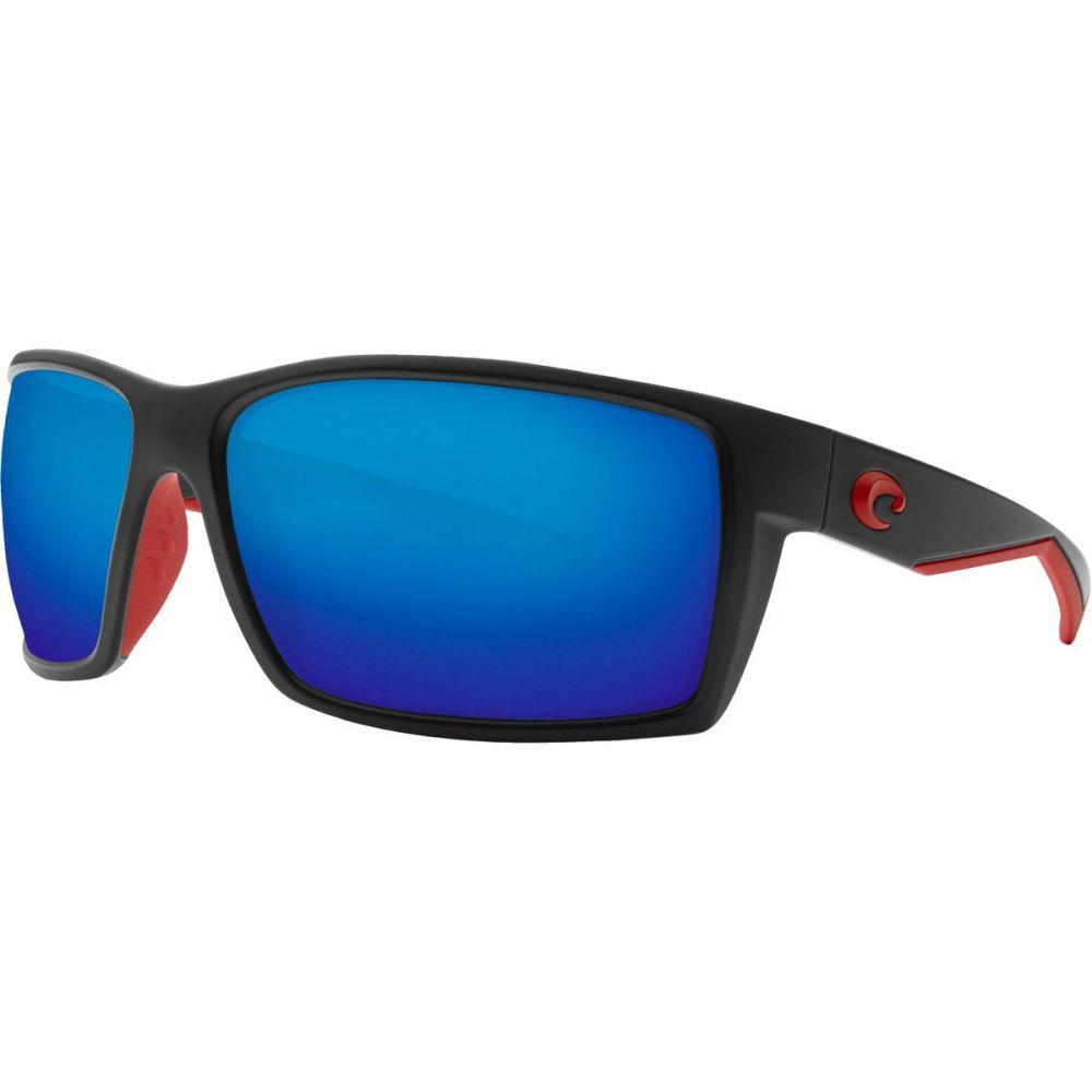 コスタ Costa レディース メガネ・サングラス 【Reefton 580P Polarized Sunglasses】Race Black Frame/Gray