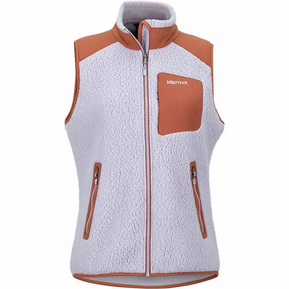 マーモット Marmot レディース ベスト・ジレ トップス【Wiley Fleece Vest】Lavender Aura/Terracotta