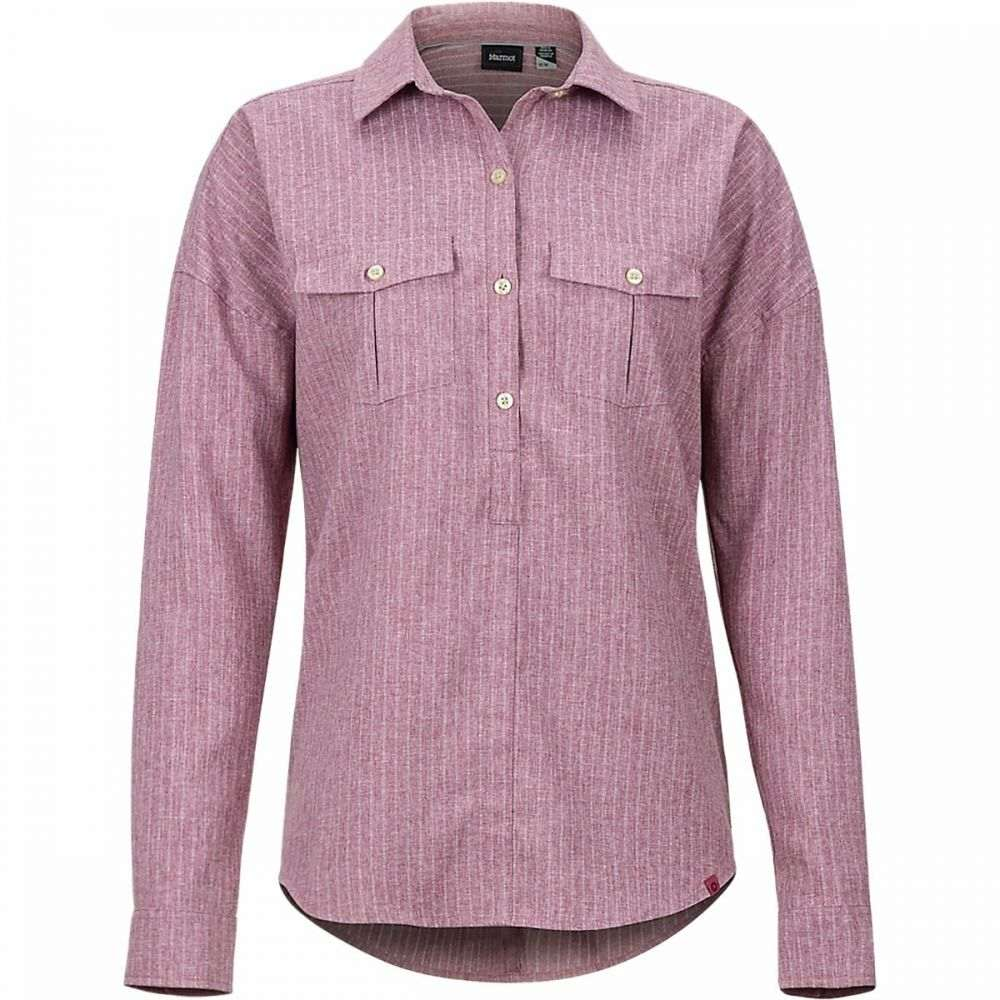 マーモット Marmot レディース トップス 【Becka Pullover Long - Sleeve Shirt】Dry Rose