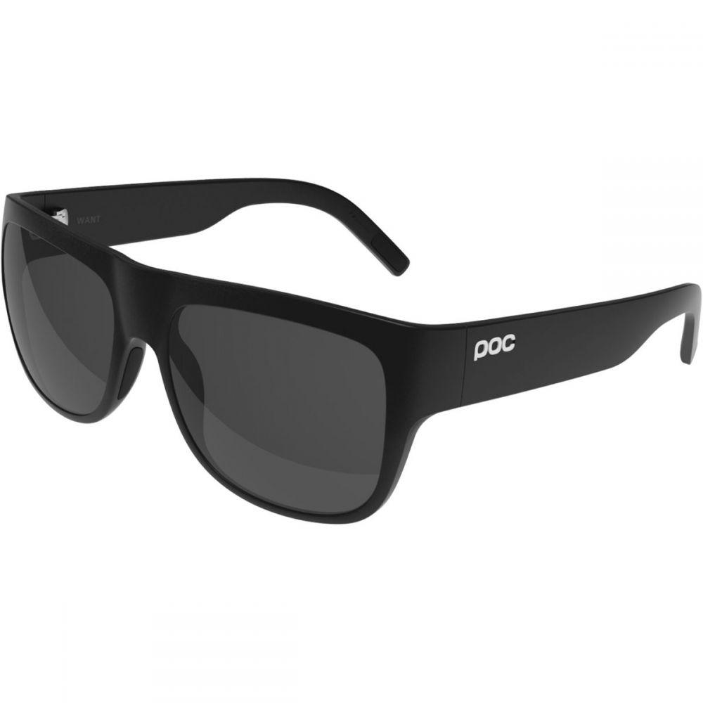 ピーオーシー POC レディース スポーツサングラス 【Want Sunglasses】Uranium Black