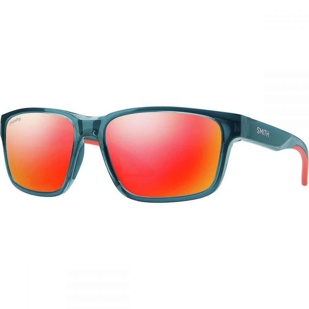 スミス Smith レディース メガネ・サングラス 【Basecamp Chromapop Sunglasses】Crystal Mediterranean Frame/Red Mirror