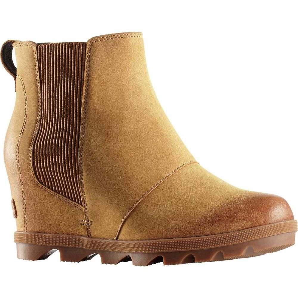 ソレル Sorel レディース ブーツ チェルシーブーツ ウェッジソール シューズ・靴【Joan of Arctic Wedge II Chelsea Boot】Camel Brown Solid