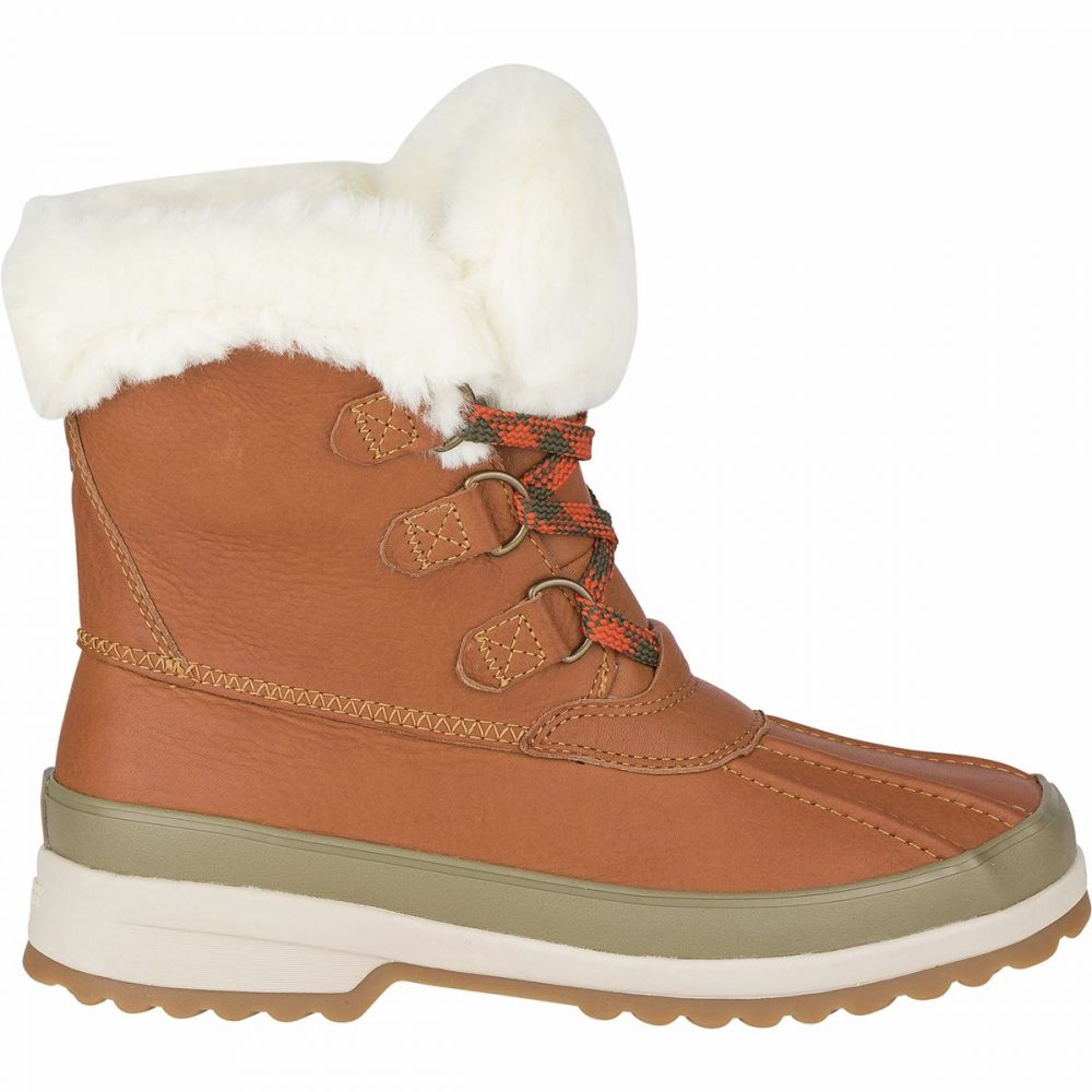 スペリー Sperry Top-Sider レディース ブーツ シューズ・靴【Maritime Leather Winter Boot】Tan