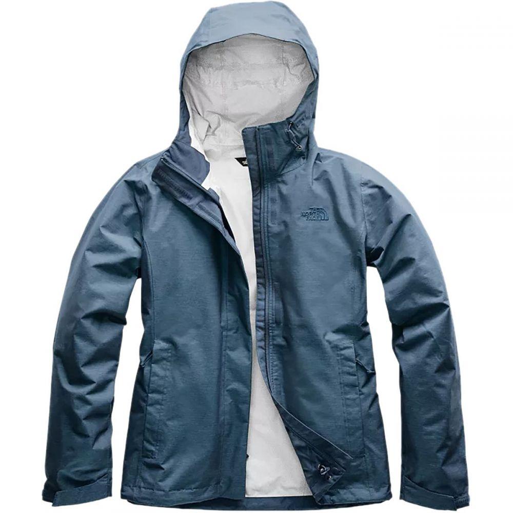 ザ ノースフェイス The North Face レディース レインコート アウター【Venture 2 Jacket】Blue Wing Teal