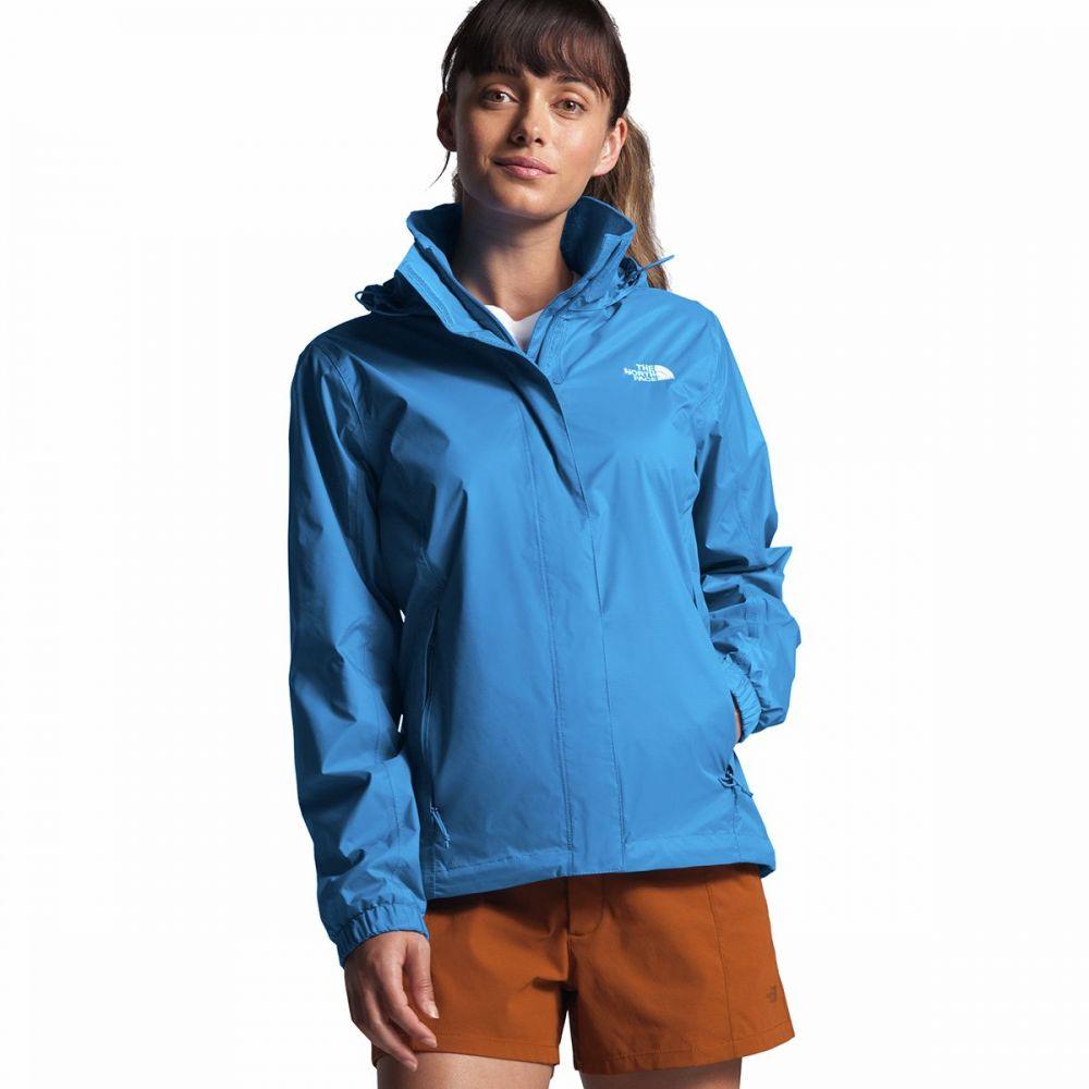 ザ ノースフェイス The North Face レディース レインコート フード アウター【Resolve 2 Hooded Jacket】Clear Lake Blue