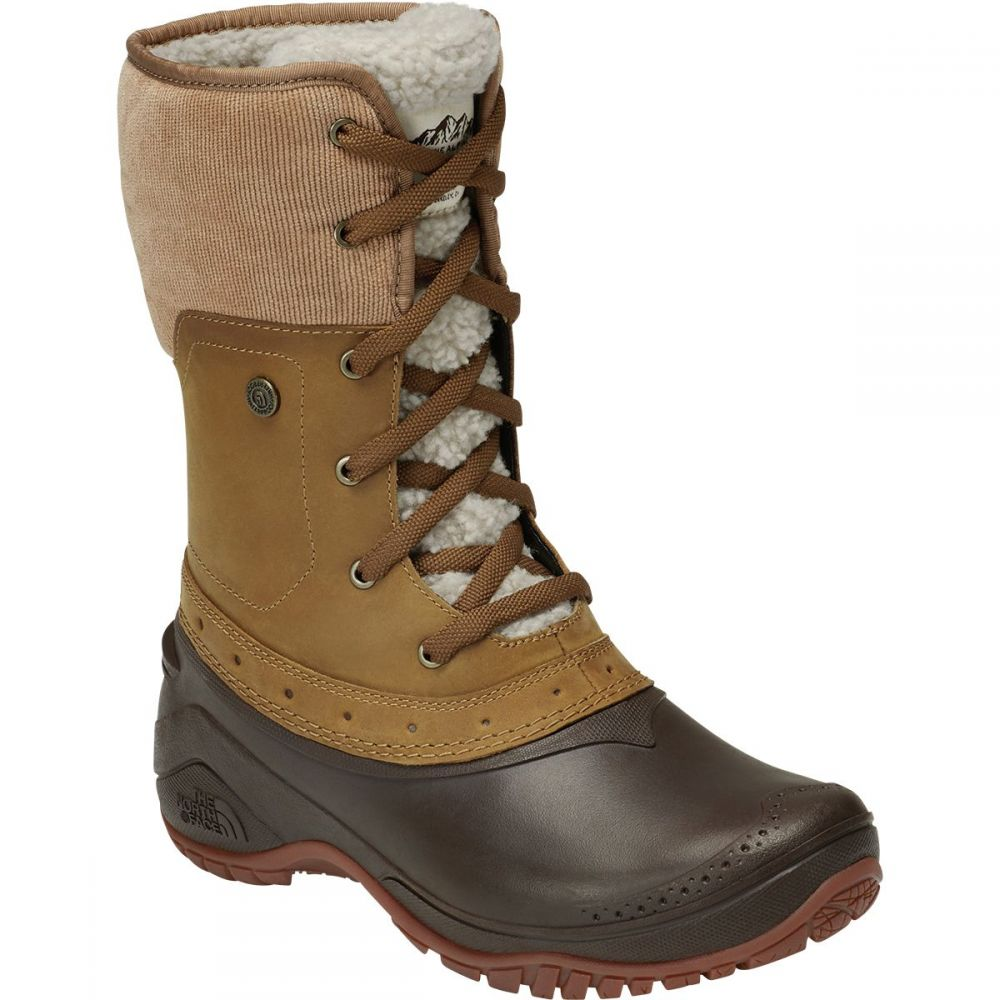 ザ ノースフェイス The North Face レディース ブーツ シューズ・靴【Shellista Roll - Down Winter Boot】Golden Brown/Coffee Bean Brown