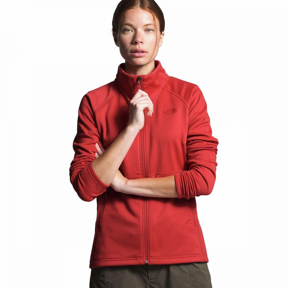 ザ ノースフェイス The North Face レディース フリース トップス【Canyonlands Full - Zip Fleece Jacket】Sunbaked Red