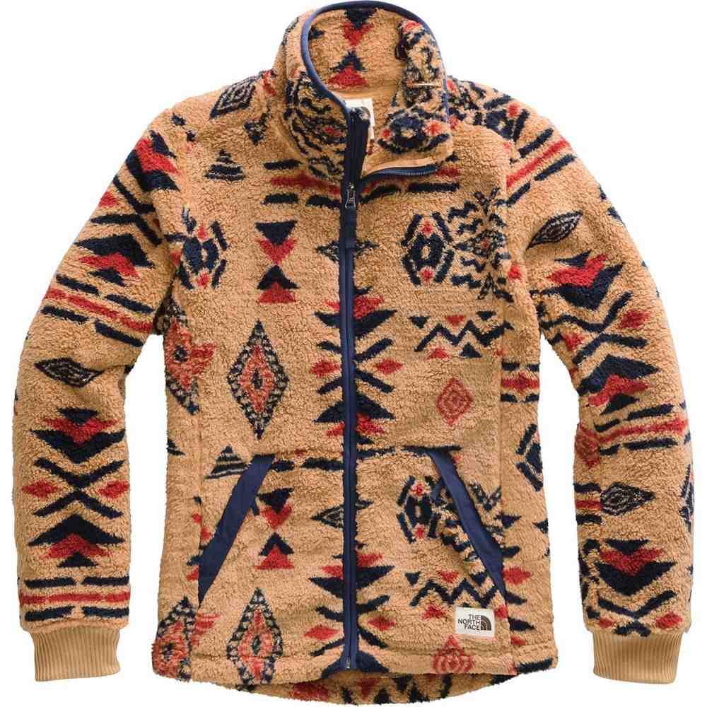 ザ ノースフェイス The North Face レディース フリース トップス【Campshire Full - Zip Fleece Jacket】Cedar Brown California Geo Print