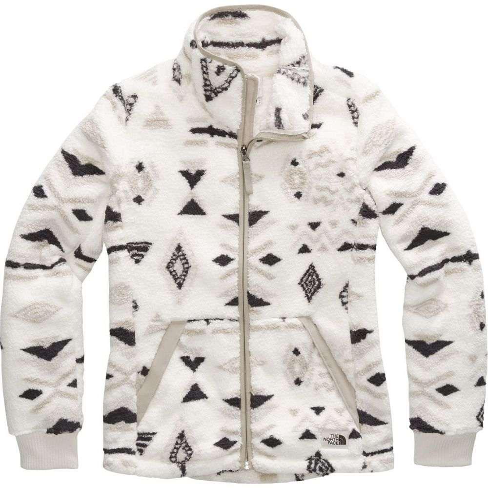 ザ ノースフェイス The North Face レディース フリース トップス【Campshire Full - Zip Fleece Jacket】Vintage White California Geo Print