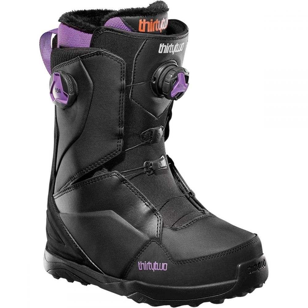 サーティーツー ThirtyTwo レディース スキー・スノーボード ブーツ シューズ・靴【Lashed Double BOA Snowboard Boot】Black/Purple