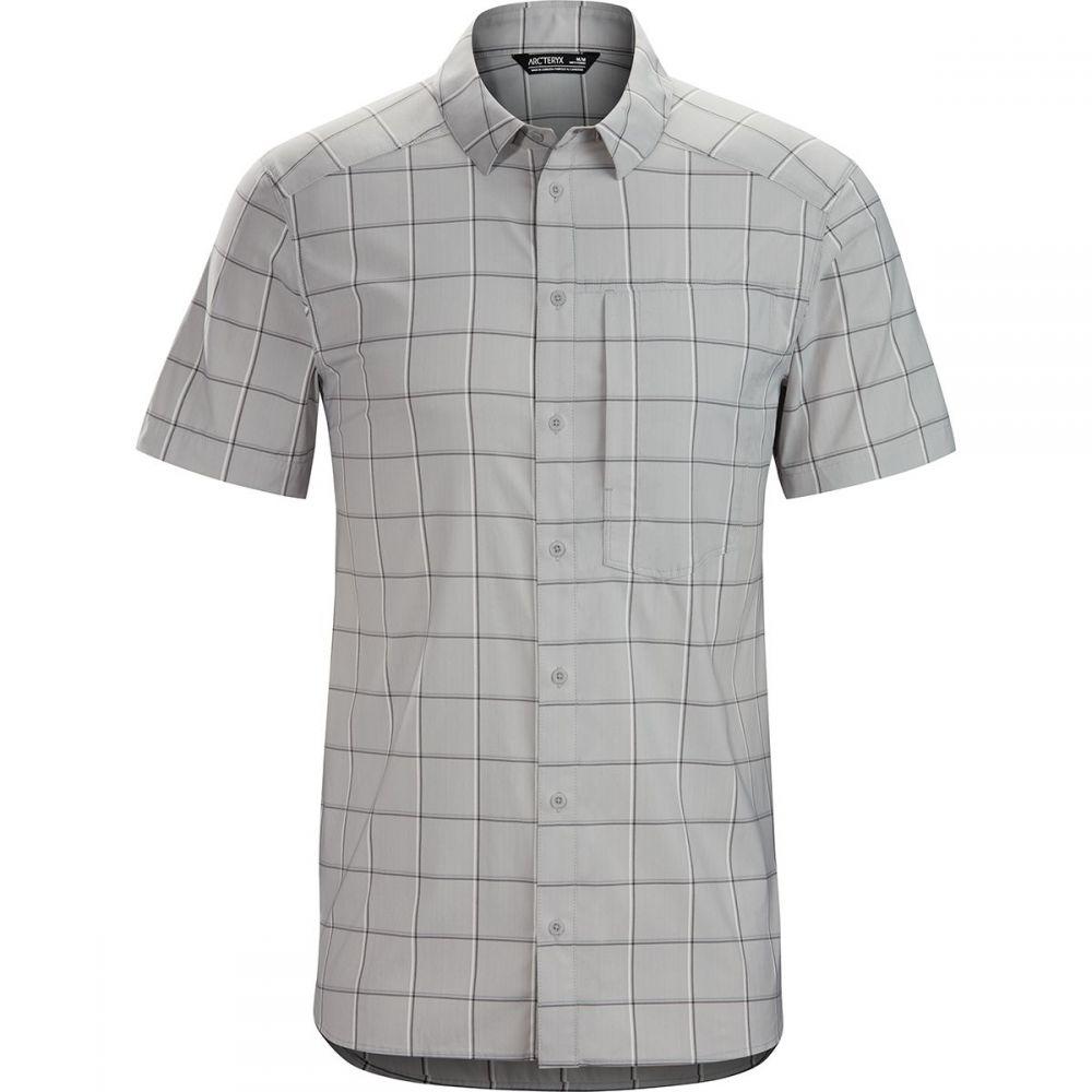 アークテリクス Arc'teryx メンズ 半袖シャツ トップス【Riel Short - Sleeve Button - Up Shirt】Fibreglass