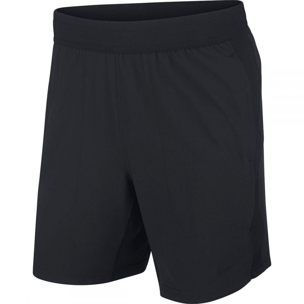 ナイキ Nike メンズ ランニング・ウォーキング ショートパンツ ボトムス・パンツ【Flex Yoga Short】Black/Black/Iron Grey