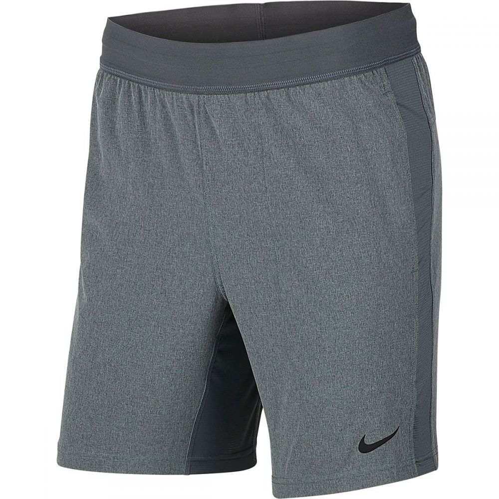 ナイキ Nike メンズ ランニング・ウォーキング ショートパンツ ボトムス・パンツ【Flex Yoga Short】Iron Grey/Grey Fog/Black