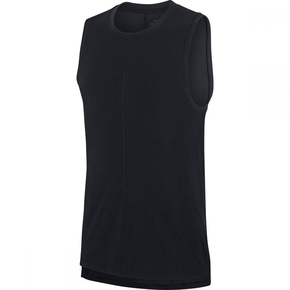 ナイキ Nike メンズ ヨガ・ピラティス タンクトップ トップス【Dry Yoga Tank Top】Black/Black