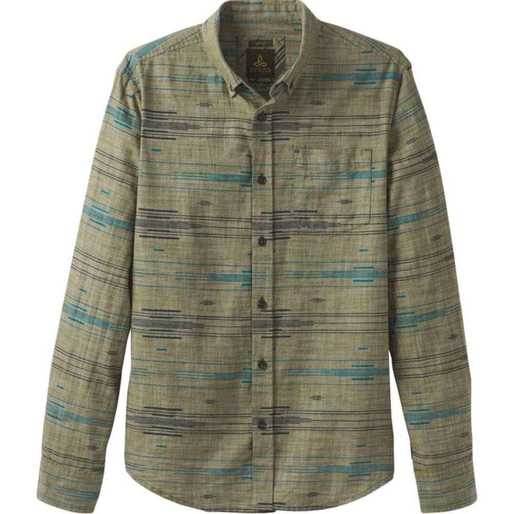 プラーナ Prana メンズ シャツ トップス【Broderick Slim Long - Sleeve Shirt】Vert Green