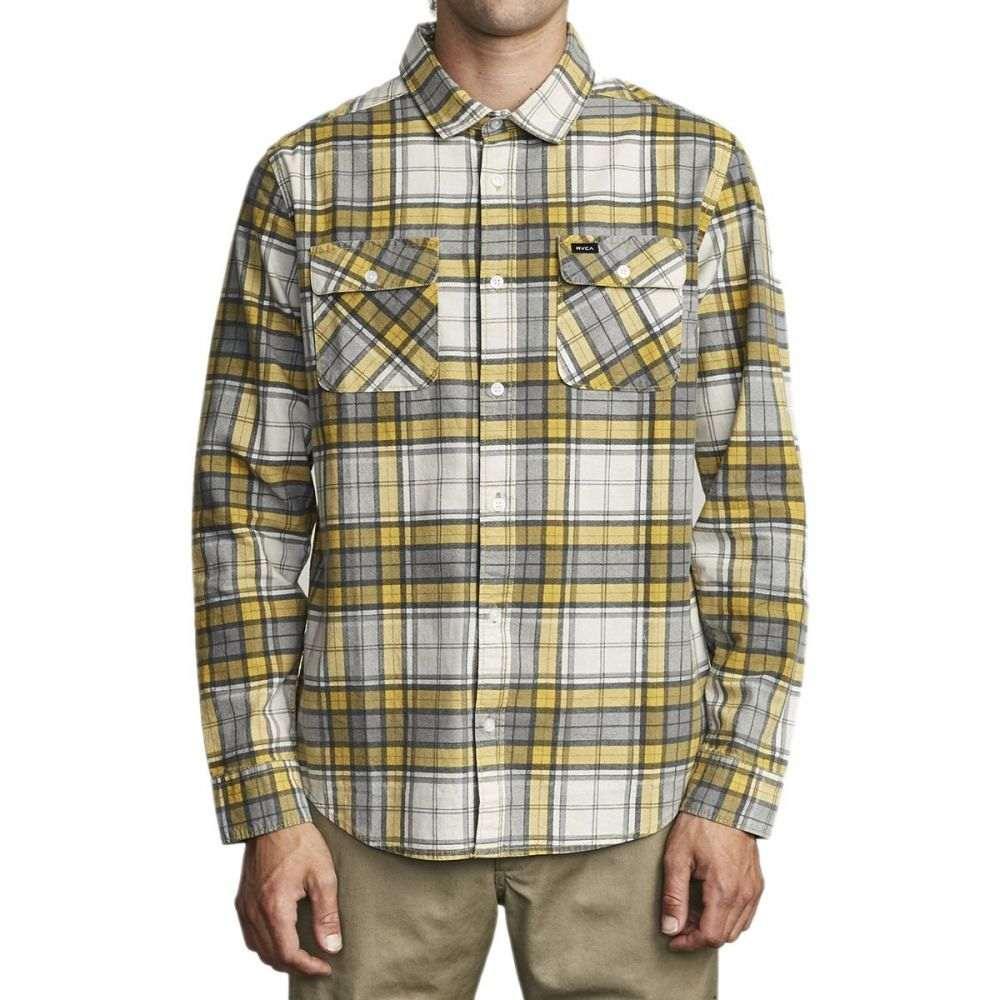 ルーカ RVCA メンズ シャツ トップス【Panhandle Long - Sleeve Flannel】Golden Yellow