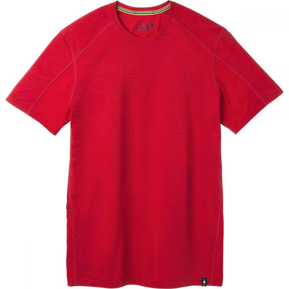 スマートウール Smartwool メンズ Tシャツ トップス【Merino Sport 150 Hidden Pocket T - Shirt】Chili Pepper Heather