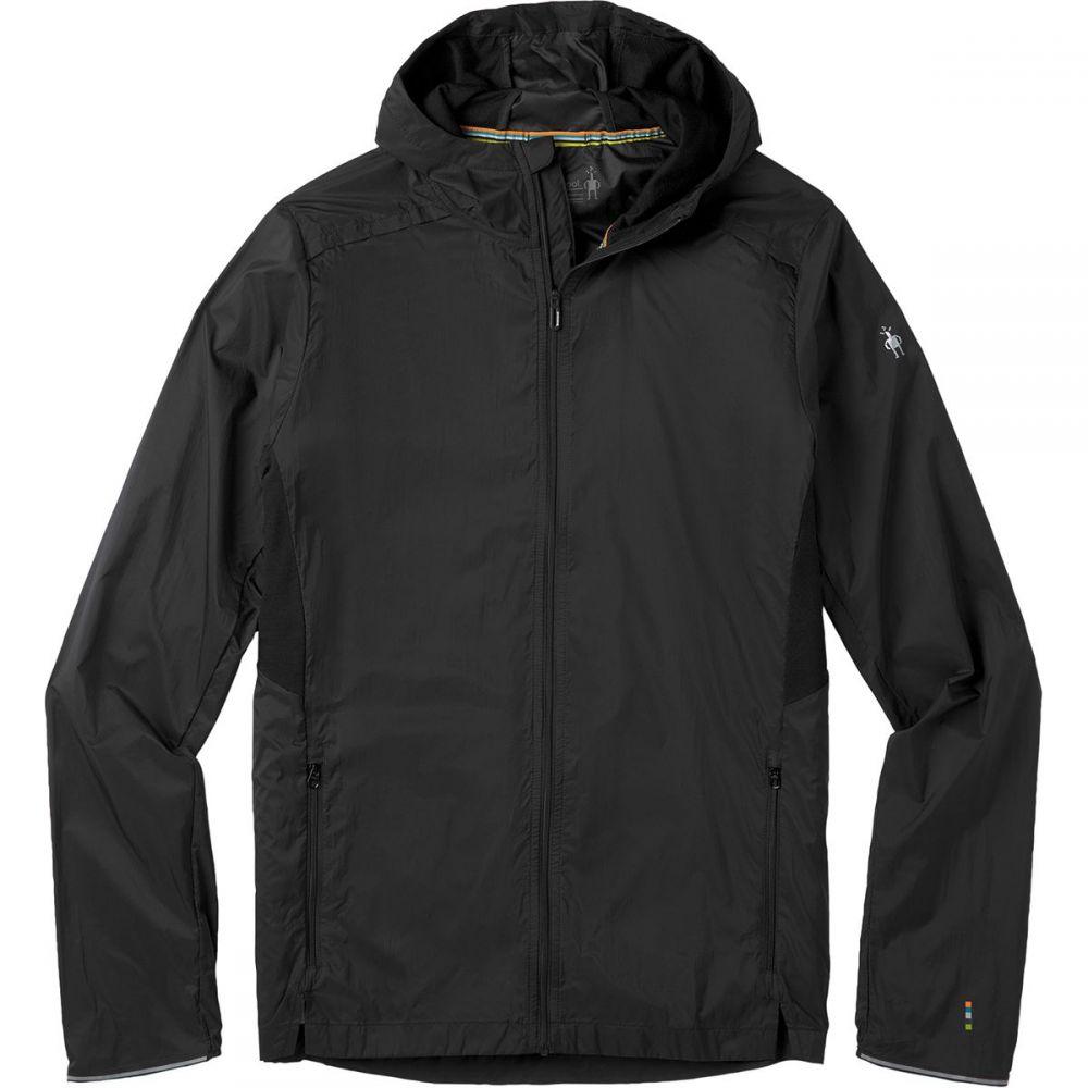 スマートウール Smartwool メンズ ジャケット フード アウター【Merino Sport Ultra Light Hooded Jacket】Black