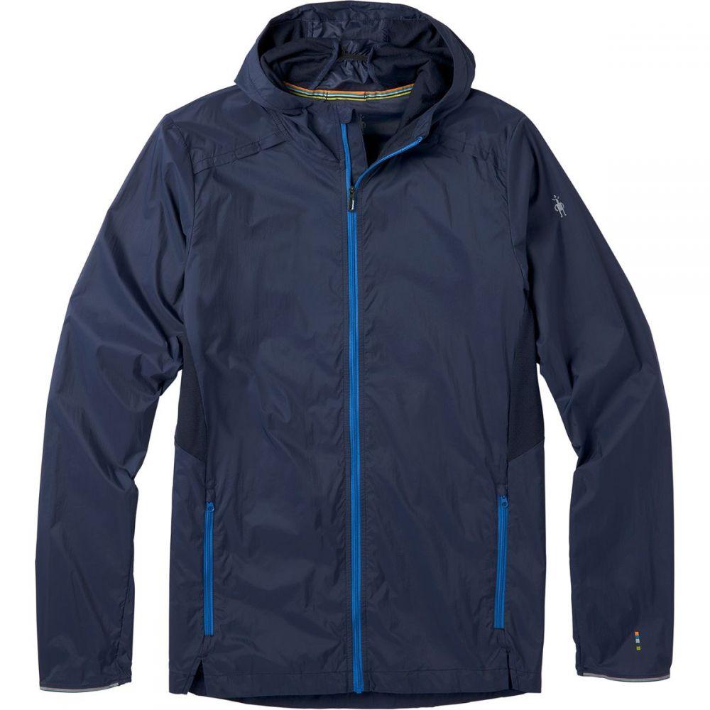 スマートウール Smartwool メンズ ジャケット フード アウター【Merino Sport Ultra Light Hooded Jacket】Deep Navy