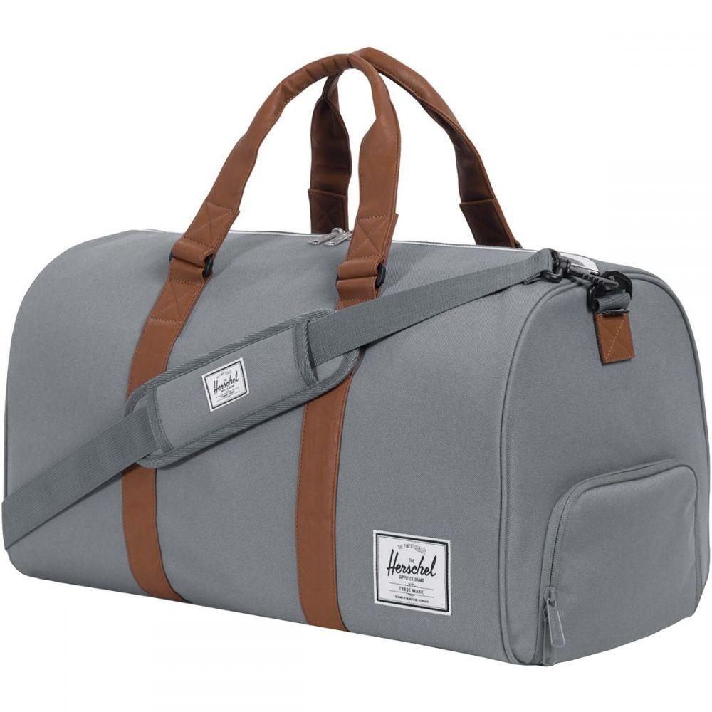 ハーシェル サプライ Herschel Supply レディース ボストンバッグ・ダッフルバッグ バッグ【Novel 42.5L Duffel】Grey/Tan Synthetic Leather