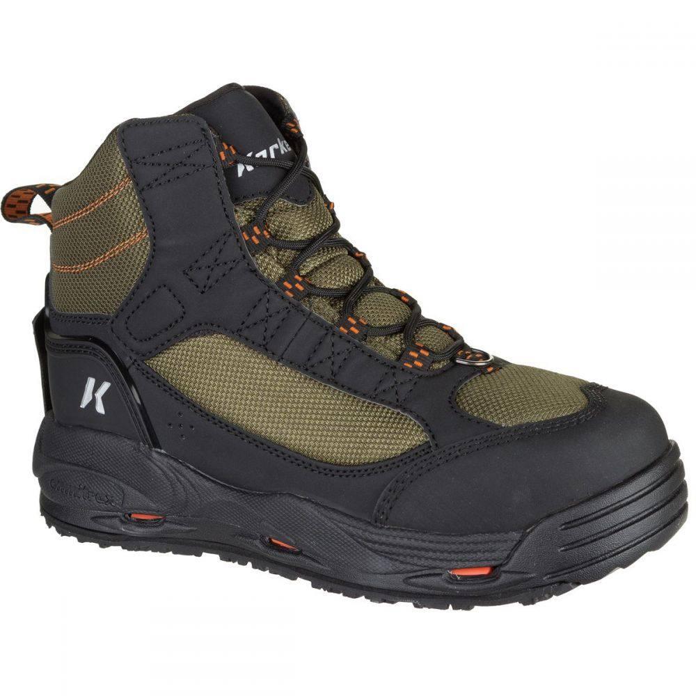 コーカーズ Korkers メンズ 釣り・フィッシング シューズ・靴【Greenback Felt Boot】Kling-On/Studded Kling-On Soles