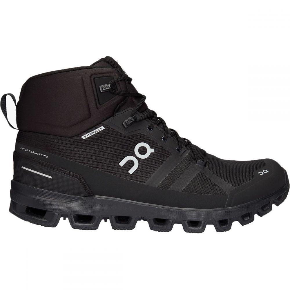 オン ON Running メンズ ハイキング・登山 ブーツ シューズ・靴【Cloudrock Hiking Boot】All Black