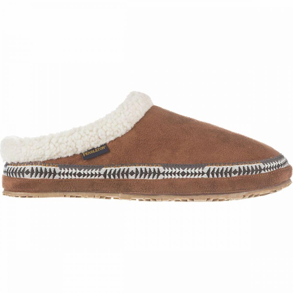 ペンドルトン Pendleton Footwear レディース スリッパ シューズ・靴【Dormer Mule Slipper】Caramel Cafe