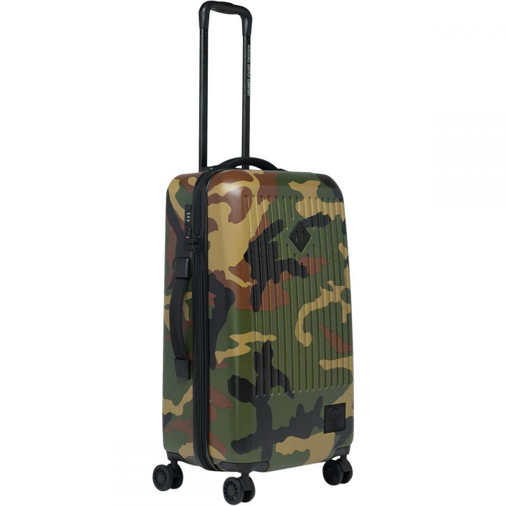 ハーシェル サプライ Herschel Supply レディース スーツケース・キャリーバッグ ギアバッグ バッグ【Trade Medium Rolling Gear Bag】Woodland Camo