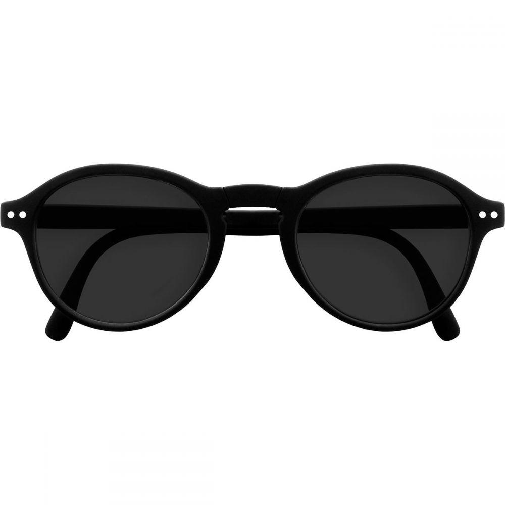 イジピジ Izipizi レディース メガネ・サングラス 【#F Sun The Foldable Sunglasses】Black