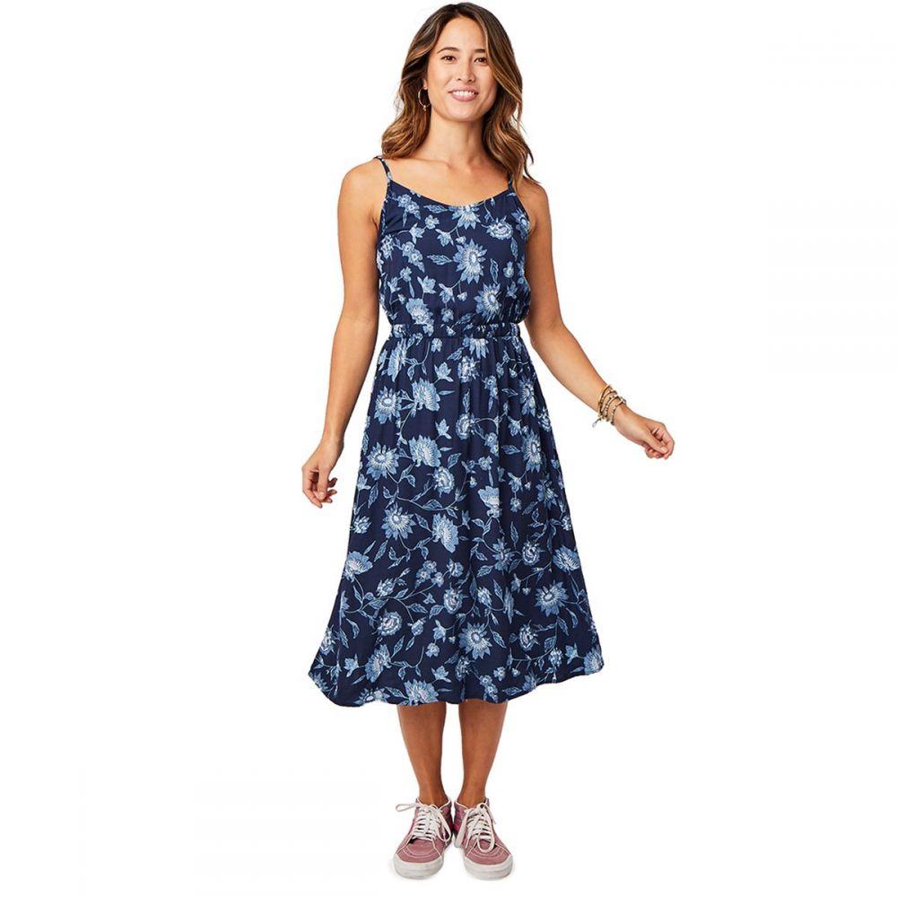 カーヴデザイン Carve Designs レディース ワンピース ワンピース・ドレス【Blakely Dress】Navy Haku