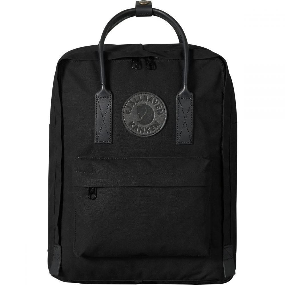フェールラーベン Fjallraven レディース バックパック・リュック カンケン バッグ【Kanken No.2 Black 16L Backpack】Black
