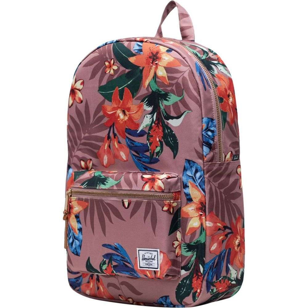 ハーシェル サプライ Herschel Supply レディース バックパック・リュック バッグ【Settlement Mid - Volume 17L Backpack】Summer Floral Ash Rose