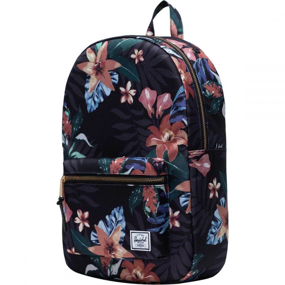 ハーシェル サプライ Herschel Supply レディース バックパック・リュック バッグ【Settlement Mid - Volume 17L Backpack】Summer Floral Black