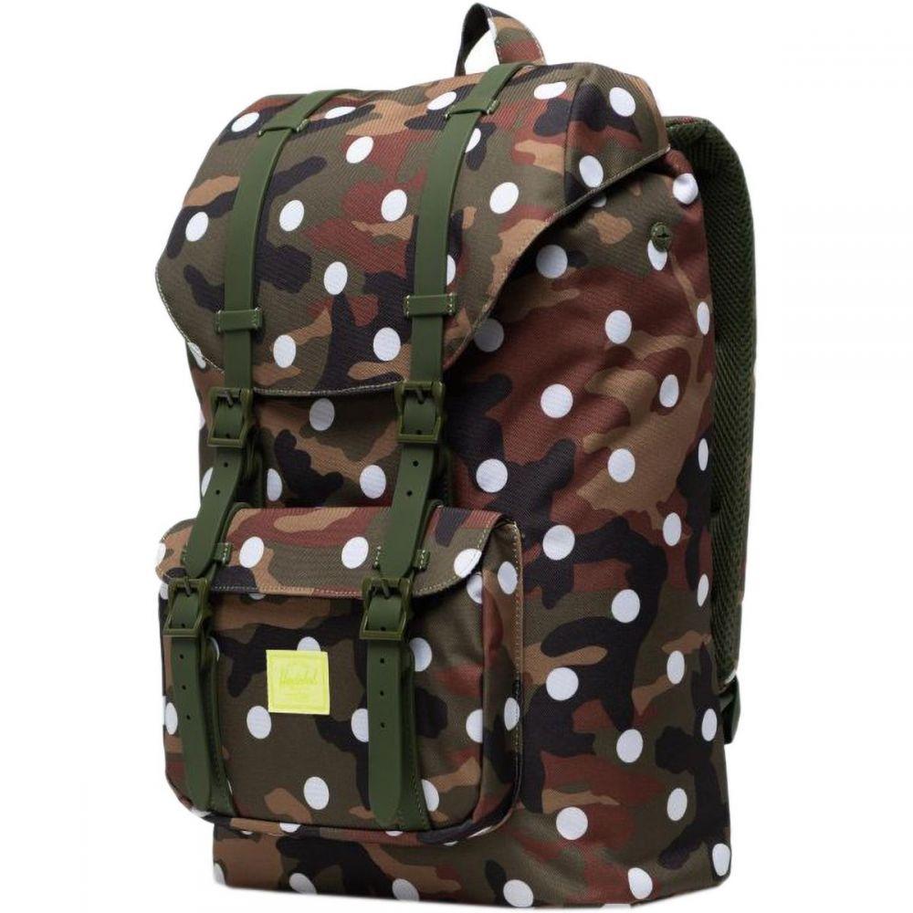 ハーシェル サプライ Herschel Supply レディース バックパック・リュック バッグ【Little America 25L Backpack】Desert Camo/Woodland Camo