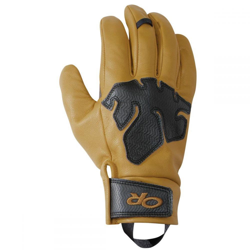 アウトドアリサーチ Outdoor Research レディース クライミング グローブ【Splitter Work Glove】Natural/Black