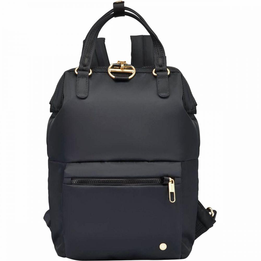 パックセーフ Pacsafe レディース バックパック・リュック バッグ【Citysafe CX Mini Backpack】Black