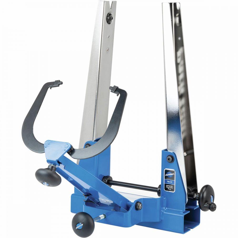 パークツール Park Tool レディース 自転車 【Professional Wheel Truing Stand - TS - 4.2】Blue/Silver