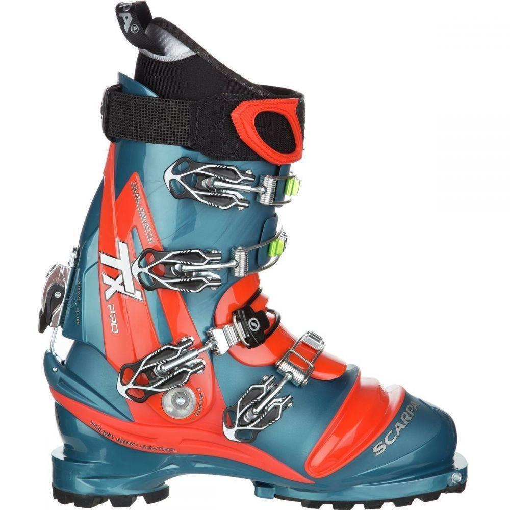 スカルパ Scarpa レディース スキー・スノーボード ブーツ シューズ・靴【TX Pro Boot】Lyons Blue/Red Orange