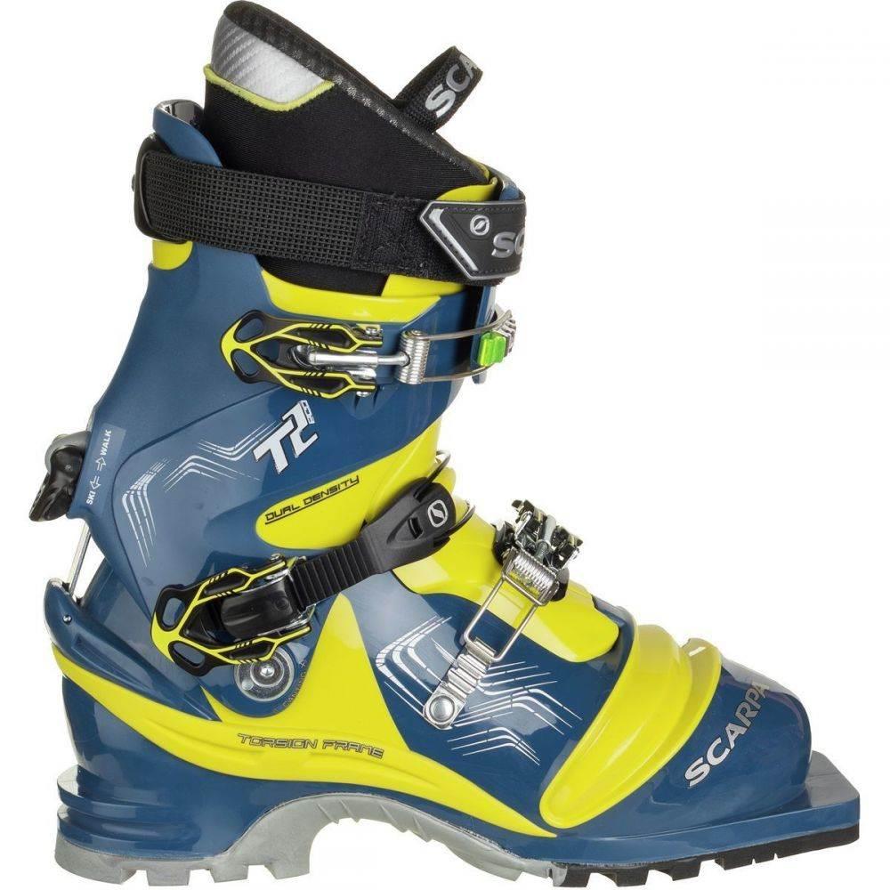 スカルパ Scarpa レディース スキー・スノーボード ブーツ シューズ・靴【T2 Eco Telemark Boot】True Blue/Acid Green