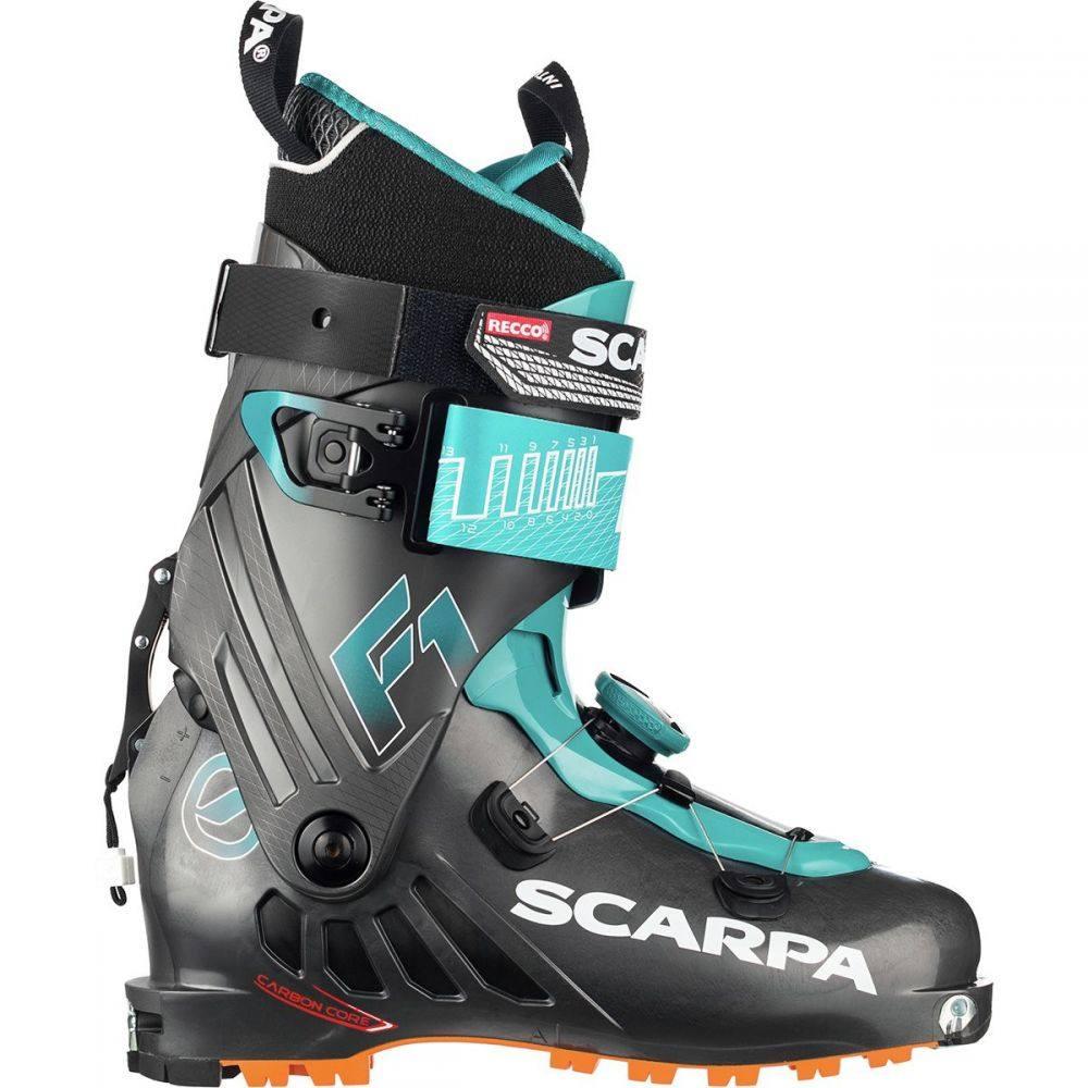 スカルパ Scarpa レディース スキー・スノーボード ブーツ シューズ・靴【F1 Alpine Touring Boot】Anthracite/Pagoda Blue