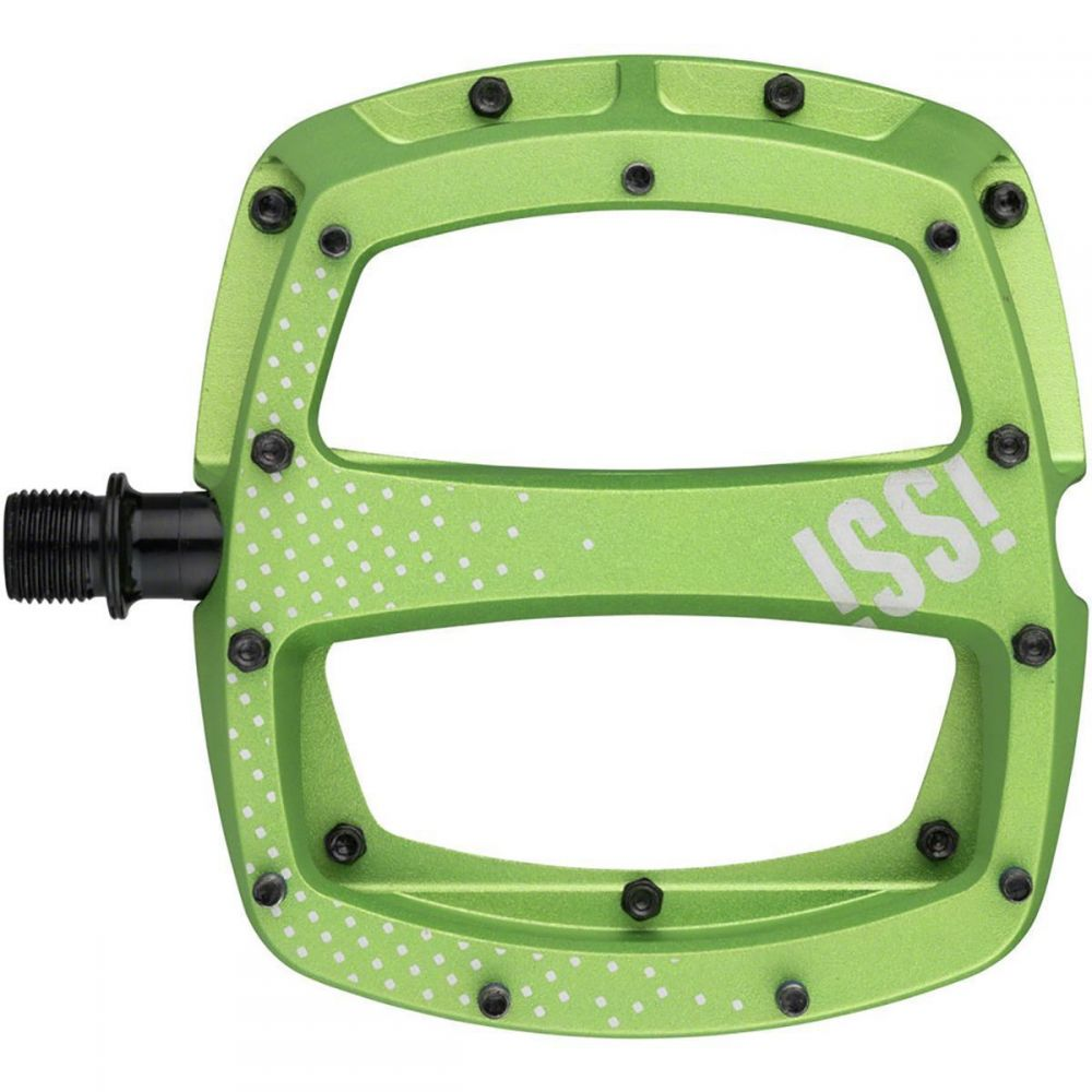 iSSi レディース 自転車 ペダル【Stomp XL Pedals】Lime