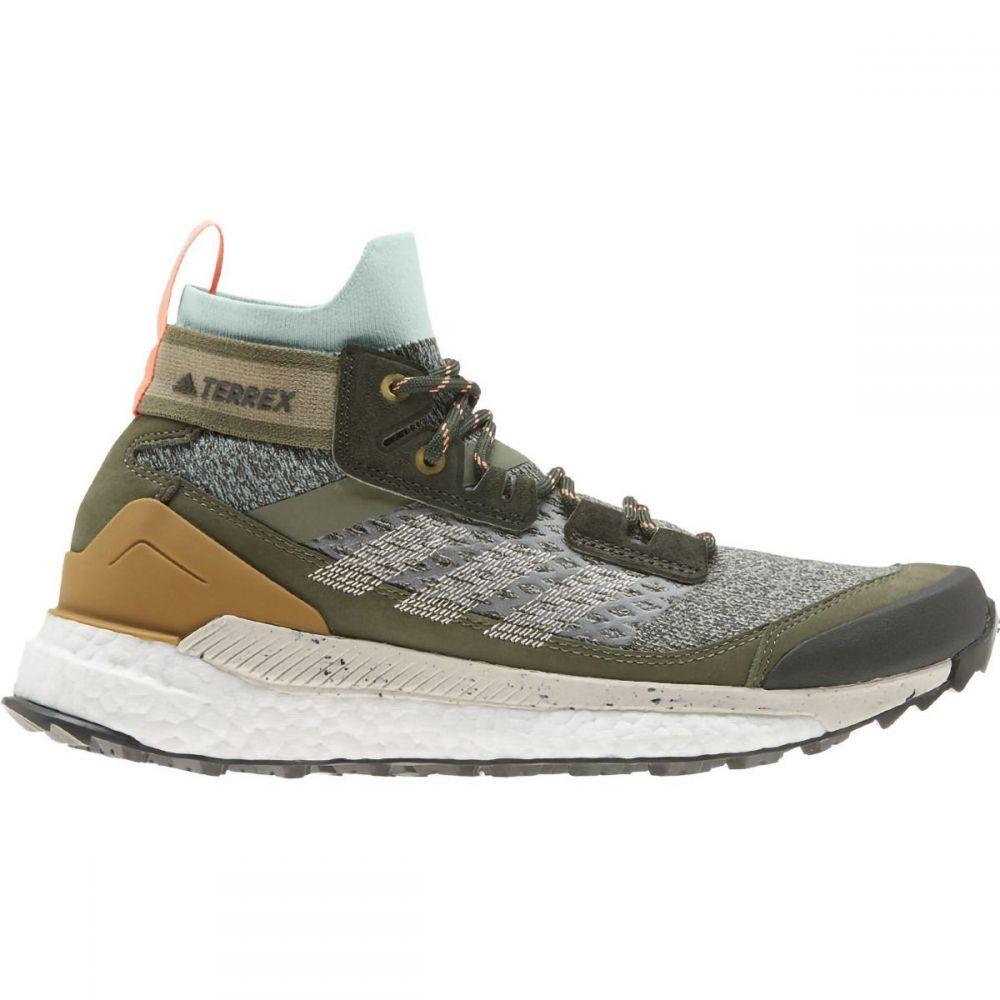 アディダス Adidas Outdoor レディース ハイキング・登山 ブーツ シューズ・靴【Terrex Free Blue Hiker Boot】Feather Grey/Alumina/Green Tint