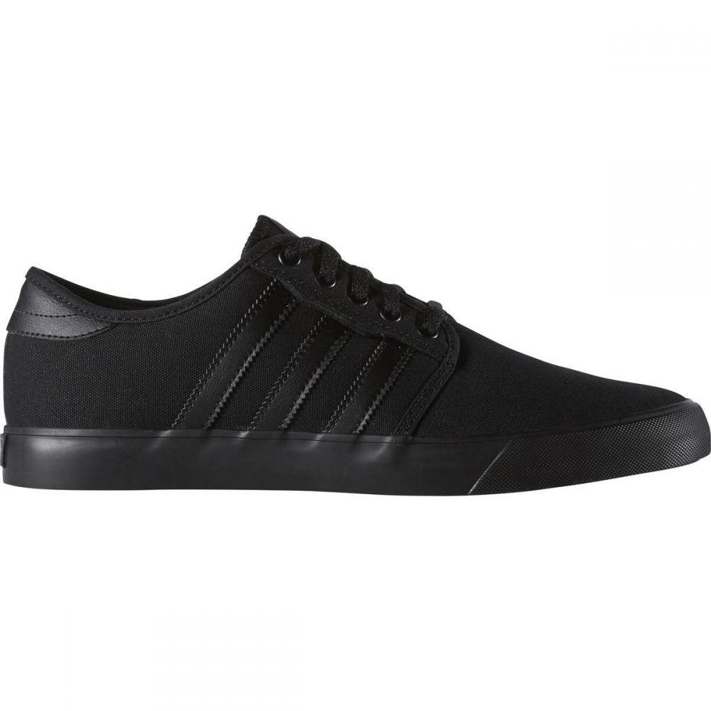 アディダス Adidas メンズ スケートボード シューズ・靴【Seeley Skate Shoe】Black/Black/Black