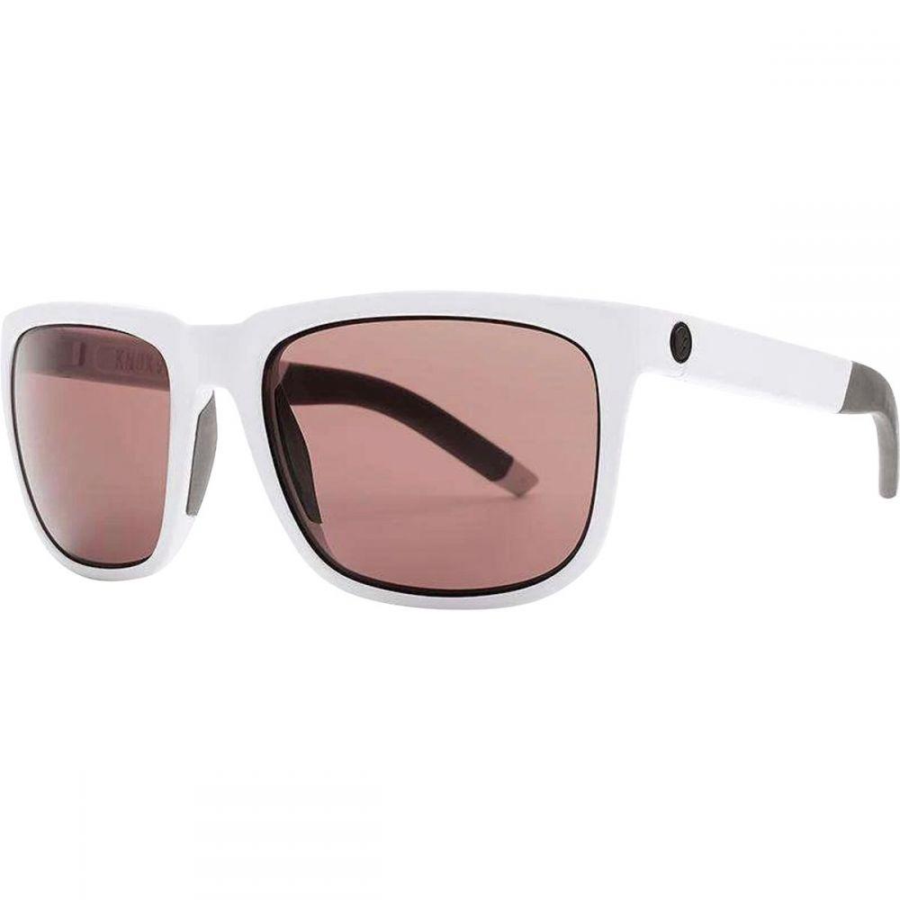 エレクトリック Electric メンズ メガネ・サングラス 【Knoxville S Sunglasses】Matte White/Rose+