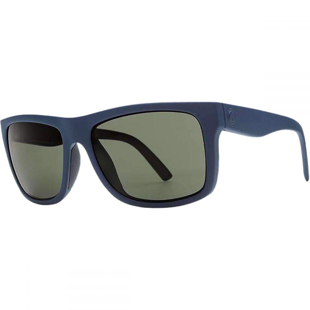 エレクトリック Electric メンズ メガネ・サングラス 【Swingarm S Polarized Sunglasses】Matte Navy-Polar Plus Grey